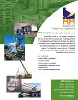 Freight Management one of MM Solutions Services