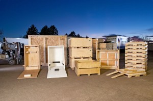 Custom crates, custom pallets and packaging from MM Solutions - Loveland, CO