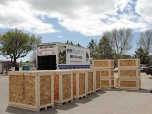 Custom crates, custom crating solutions, and custom pallets engineered for endurance by MM Solutions Loveland, CO