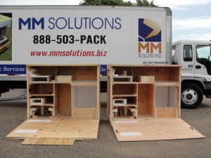 Custom crates, wood crates and skids are engineered for endurance by MM Solutions Loveland, CO.  We offer solutions to fit your specifi nedds.  Call today for our help.