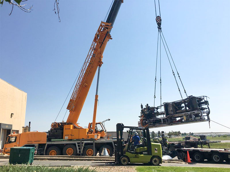 Technical Rigging and Equipment Moving - MM Solutions